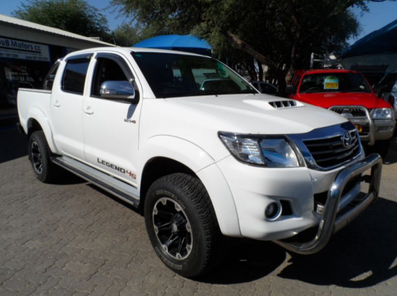 Used Toyota Hilux 3.0 D4D 4x4 D/Cab Legend 45  for sale in Windhoek, Namibia