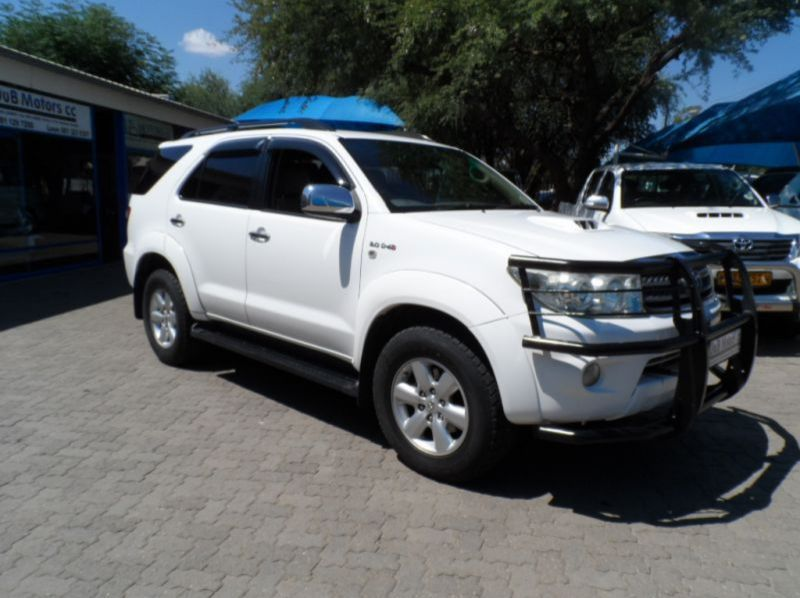 Used Toyota Fortuner 3.0 D4D Auto  for sale in Windhoek, Namibia