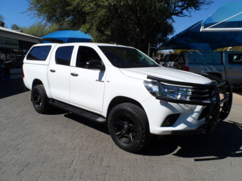 Used Toyota Hilux 2.4 GD6 4x4 D/Cab SRX  for sale in Windhoek, Namibia