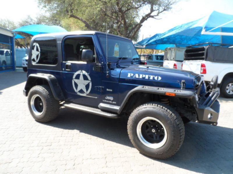 Used Jeep Wrangler 4.0i SWB  for sale in Windhoek, Namibia