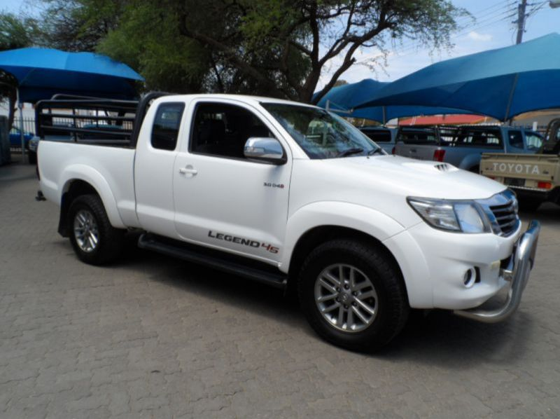 Used Toyota Hilux 3.0 D4D 4x4 Xtracab Legend 45  for sale in Windhoek, Namibia