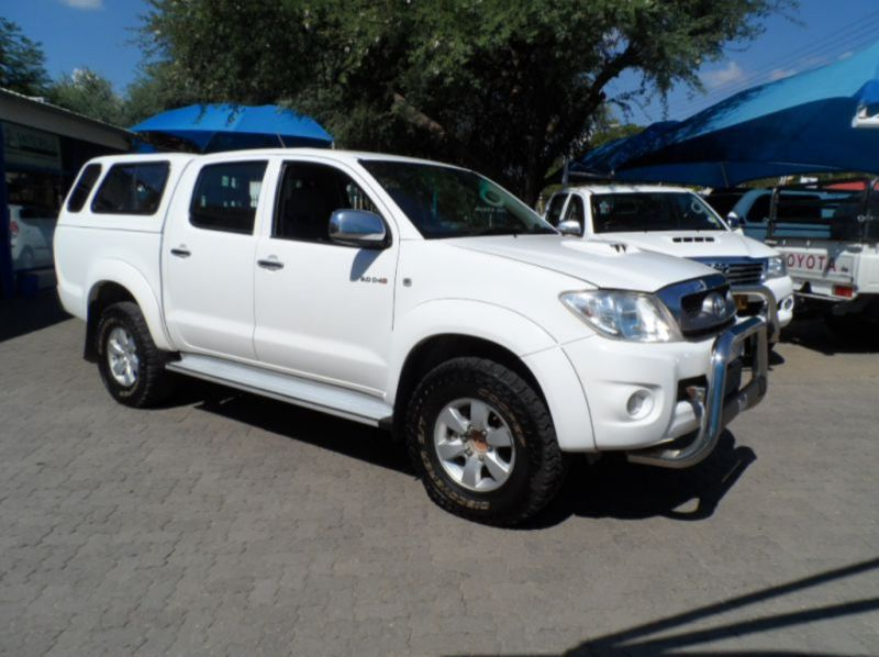 Used Toyota Hilux 3.0 D4D D/cab R/B 4x2  for sale in Windhoek, Namibia